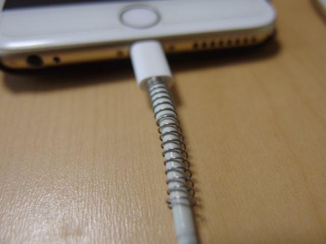 iPhoneのLightningケーブルの断線