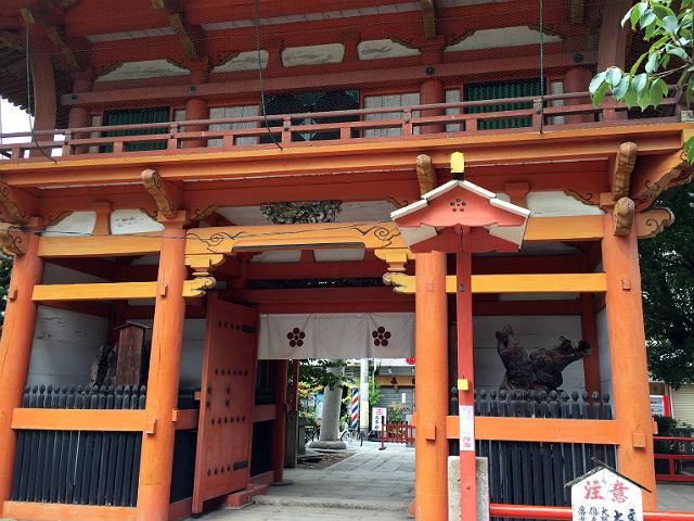 菅原神社の楼門