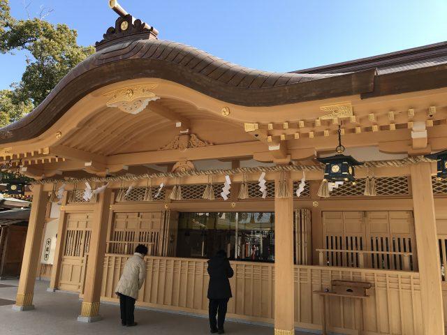 方違神社 新拝殿