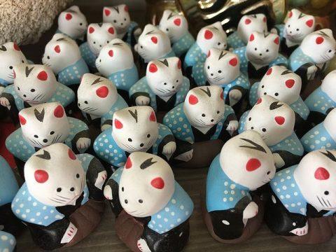 住吉大社 初辰さんの招き猫