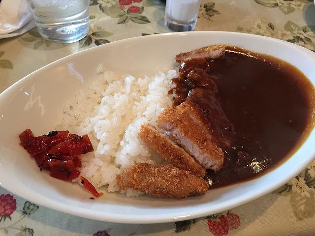 堺東 茶房カオル カツカレー