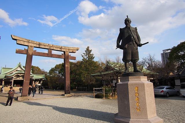 大阪城 豊國神社