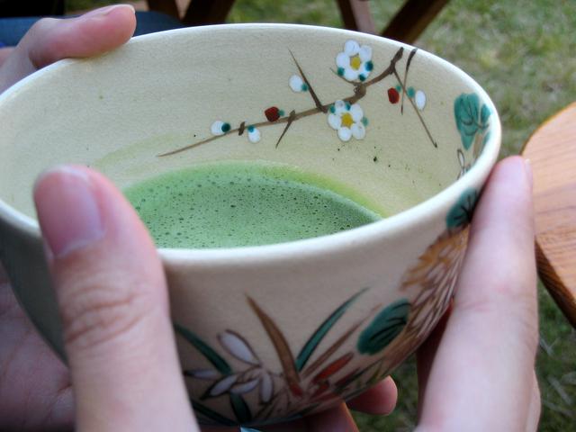 水無瀬神宮の茶会