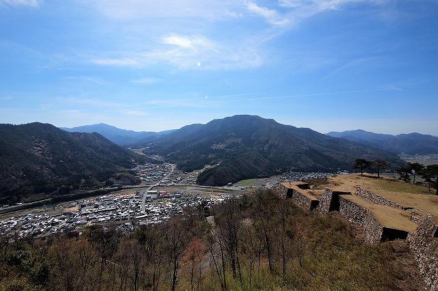 竹田城の眺め