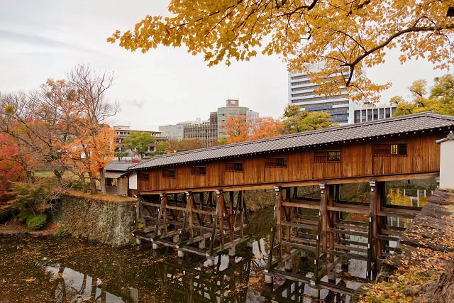 和歌山城 御橋廊下(おはしろうか)
