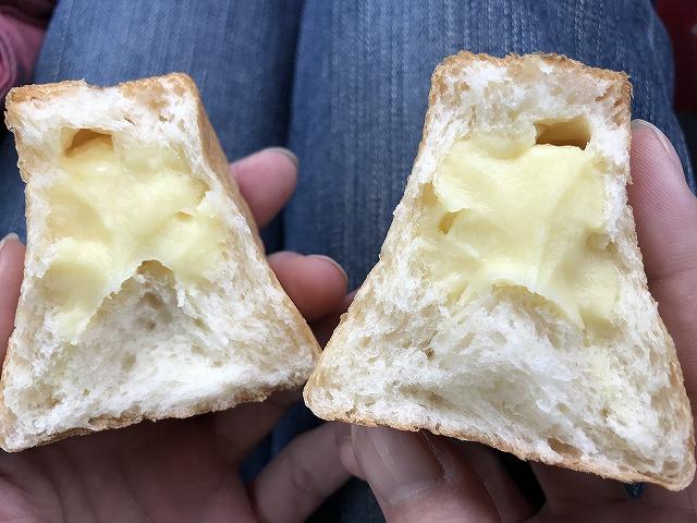 パン ド サンジュ(Pain de Singe)のとびばこパンの味