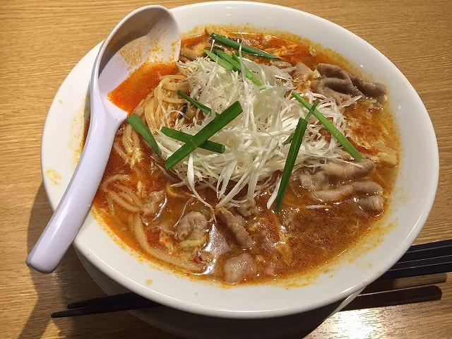 丸源の酸辣湯麺