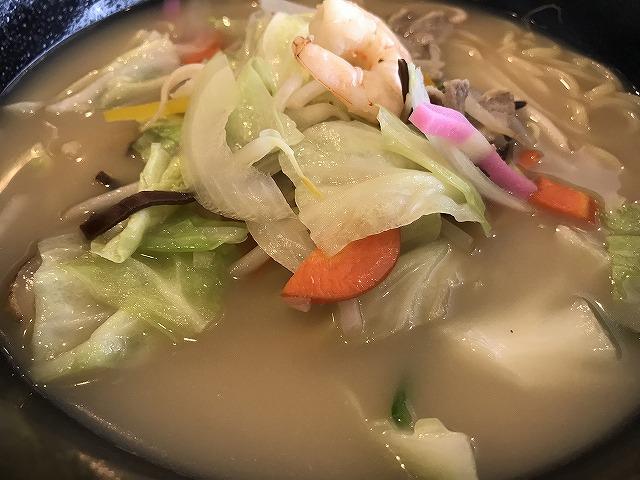 関西医科大学附属病院 レストランのぞみ 野菜ちゃんぽん
