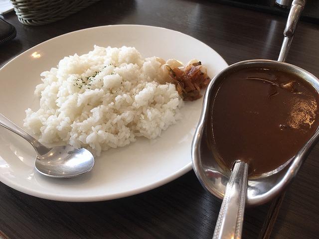 関西医科大学附属病院 レストランのぞみ カレーライス