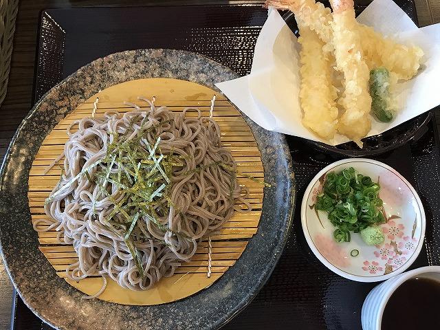 関西医科大学附属病院 レストランのぞみ 天ざるそば