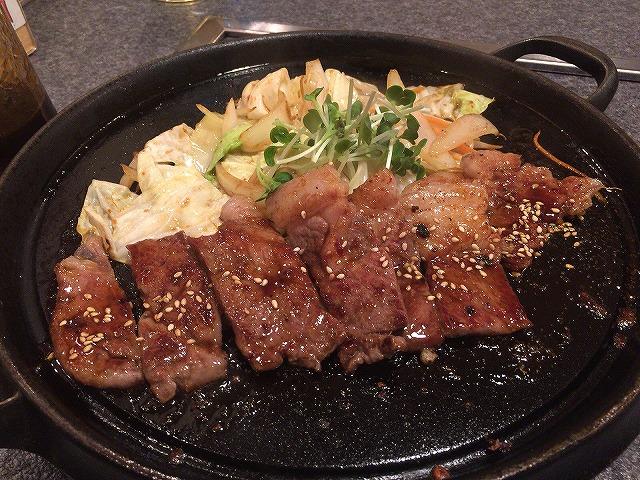 OCONAのステーキ