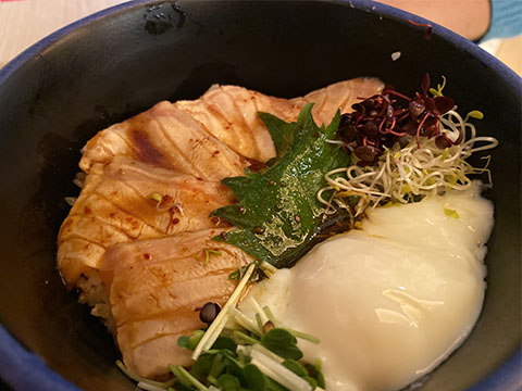 豊祝 チキン南蛮丼