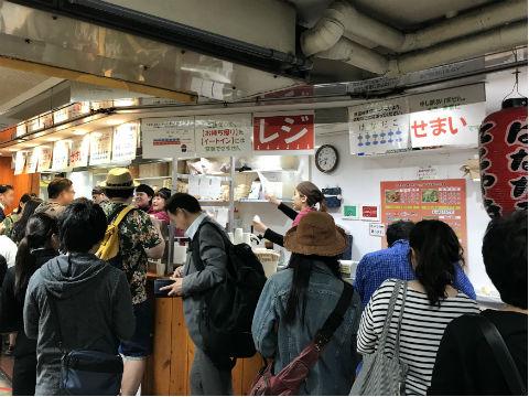 新梅田食堂街のはなだこ