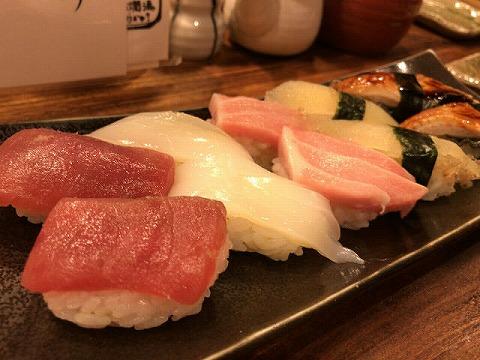 お初天神 喜多郎寿し にぎり寿司