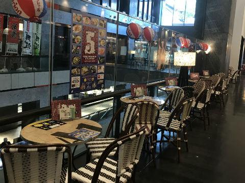 グランフロント北館6Fのウメキタフロア(UMEKITA FLOOR)はランチから深夜四時まで営業